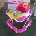 baby walker hot sale with music and light 2018 walker with european base