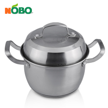 Nobo stainless steel stock pot large cooking pot for sale