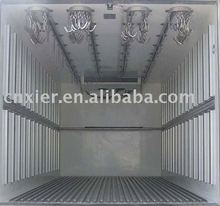 Meat refrigerated standby electric unit truck