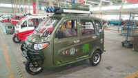 MS200ZH-CCZF Tricycle Passenge trike taxi for sale tuk tuk