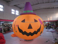 customized new style inflatable halloween pumpkin for sale