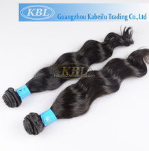 Hair extension annual exports of 50000, 100 human hair bangs