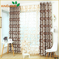 New Curtain Designs Products Made In China Jacquard Beautiful Curtain
