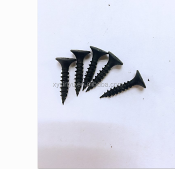 C1022 Heat Treatment black phosphate bugle head drywall screws