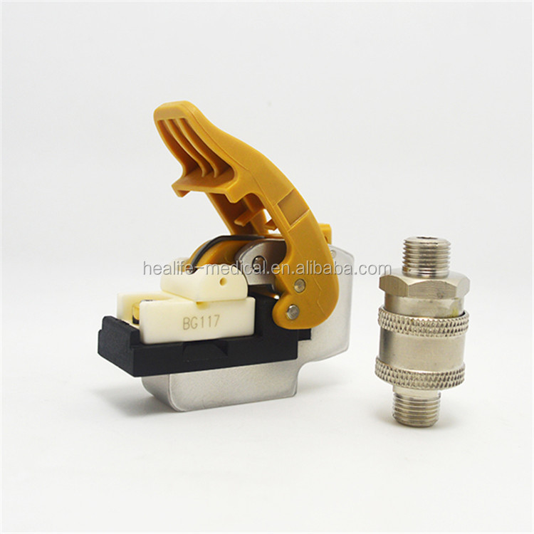 Textile Spare Parts DTY Airjet interlacing nozzle for Barmag Draw texture machine