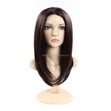 2016 Godness Long Straight Brown Synthetic Wigs For Black Women Natural Cheap Hair Wigs For Women African American Wig Cosplay