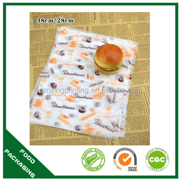wax coated paper,parchment paper,colored greaseproof paper