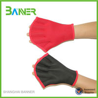 Colorful Assorted Neoprene Webbed Swimming Gloves