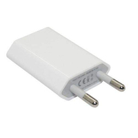 5V 1A 1port usb wall charger for iphone ,wall charger adapter for European iphone