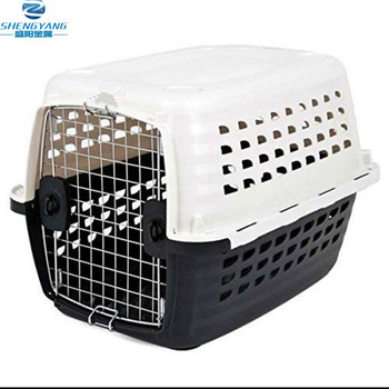 pet cat puppy dog crate portable small dog kennel carrier travel cage