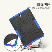 Shockproof TPU and PC heavy duty rugged armor 9.7 inch child proof tablet case for Samsung S3 9.7