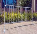 Galvanized high quality security traffic barriers with free foundation