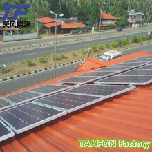 3kw 3000w 3kva DC48v with 60A controller 12pcs solar panel ,8pcs gel battery output 220V or 380V Home solar panel system