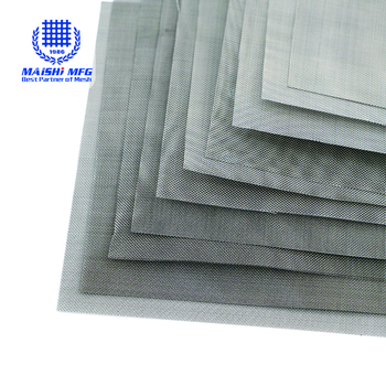 high strength stainless steel woven net wire mesh
