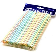 Telescopic straws disposable plastic beverage straws can be bent art straws batches of 100 batches of batches