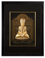 24K Gold 3D Buddha Model Foil Photo Frame With Best Quality For Gift