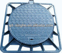 Cast iron manhole cover Stainless Steel Circular Manhole Cover With Pressure