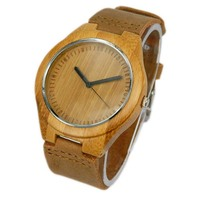100% Nature hot sale new wood watch best design cheap price eco-friendly fashion bamboo wrist watch