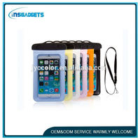 TSJ0084 Waterproof Colorful Case Mobile Phone Camera underwater dry bag for iPhone