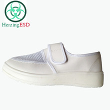 HJ-1862009A High Quality Antistatic ESD Canvas Shoes for Cleanroom