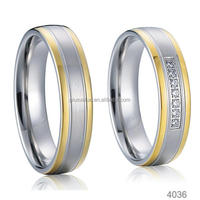 Factory Wholesale gold plated fashion jewelry puzzle rings