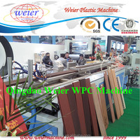 200kg/h running qingdao pp,pe wpc fence whole production line