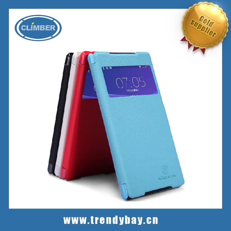 Nillkin Fresh series leather case for sony xperia z2 L50