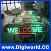 High quality small outdoor led display / led moving message sign