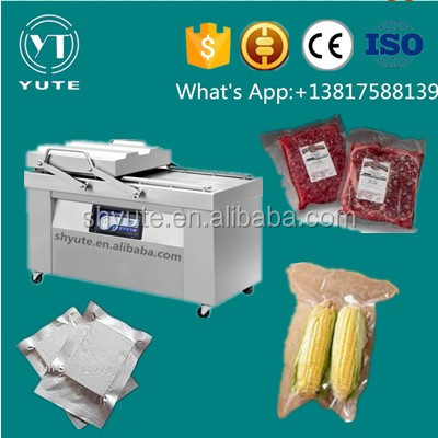 Automatic Double chamber vacuum packager,sucking machine,food saver