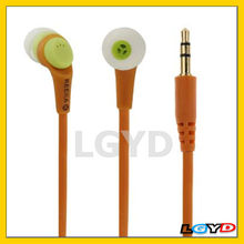 Promotional 3.5mm Plug Noise Isolating Earphone Headphones for MP3 / CD / DVD / MD
