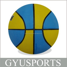 Rubber Basketball Size 7 for Training & Promotion OEM Ball Available