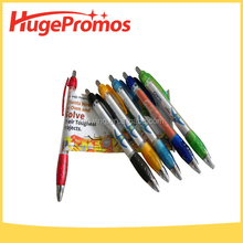 Cheap Promotional Printed Logo Advertising Banner Pen