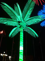 artificial palm tree with light China manufacturer Outdoor lighted palm trees