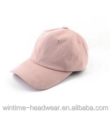 Blank Macarons Color Solid Suede Baseball Caps Dad Hat