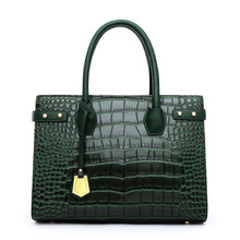 JIANUO brand <strong>bag</strong> luxury <strong>tote</strong> <strong>bag</strong> handbag for woman green leather <strong>bag</strong>