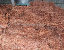 Copper wire scrap 99.9%