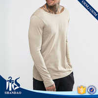 2017 Guangzhou Shandao Wholesale New Design All Matching Spring Casual O-Neck Long Sleeve T Shirt