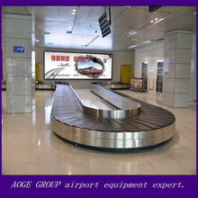 arrival and departure cargos baggage turntable handling system