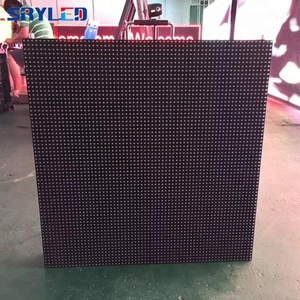 High quality SMD 2727 led display p5 outdoor led die casting aluminum cabinet wholesales