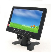 1080P 7 inch touchscreen monitor with vga HDMI car monitor