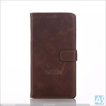 China manufacturer with Card Slot Leather Wallet Case for Sony Xperia C4