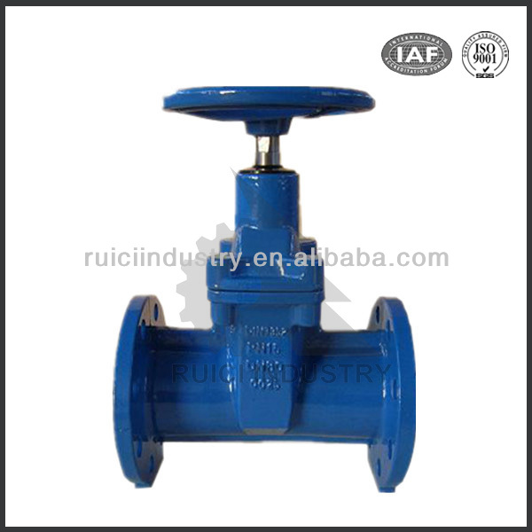 DIN3352 F5 resilient seat gate valve PN10/16