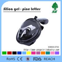Full Face Dry Snorkel Set Mask/Diving Mask Anti-fog&Anti-leak Technology