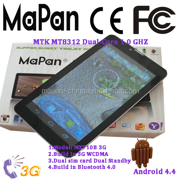 bulk wholesale low cost 3G WCDMA/GSM tablet mobile Phone with frim beautiful keyboard case