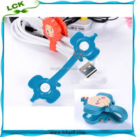 Rubber Plastic Cord Holder Cable Clip
