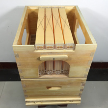 Chinese honey flow hive with flow frame