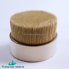 PET Hollow Tapered Dyed Tips Paint Brush Filaments