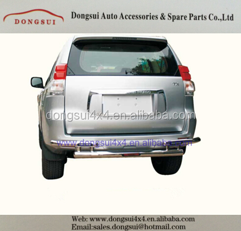 FJ150 rear guard,rear bar, rear bumper guard bar for Toyota 2010