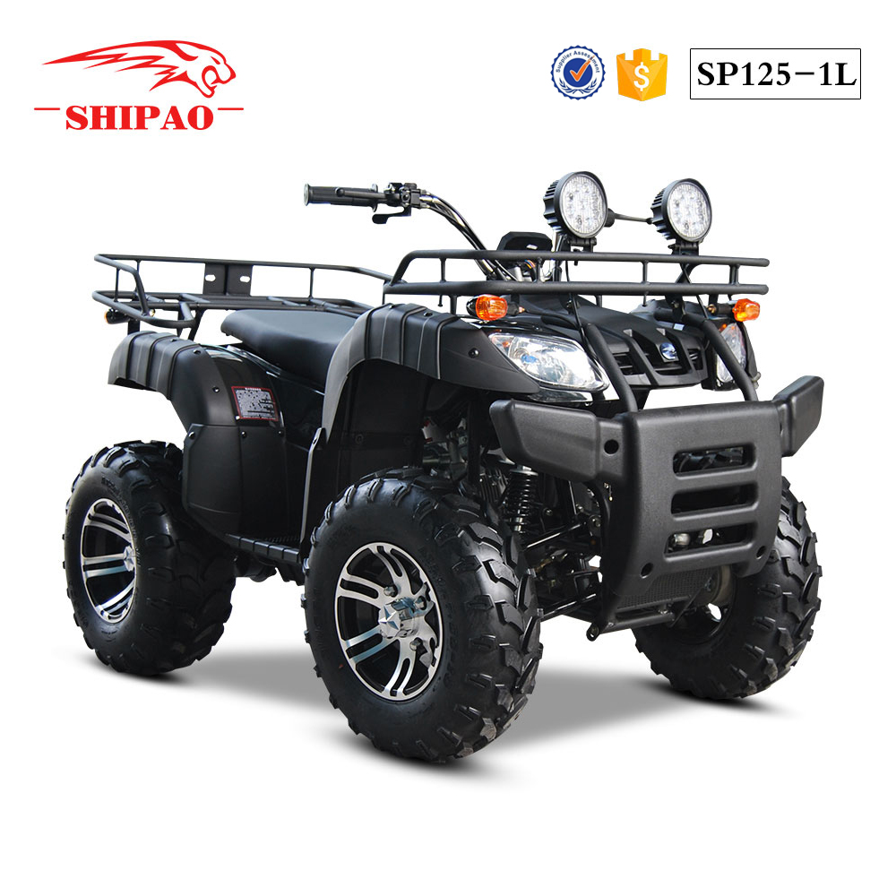 SP125-1L Shipao classic atv 110cc 125cc shaft drive