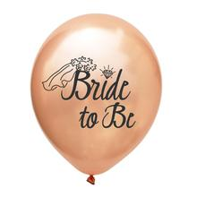 Bride to be Team Bride Latex Balloon Party Wedding Birthday Party Balloons <strong>Supplies</strong>